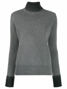 Maison Margiela turtle neck wool sweater - Grey