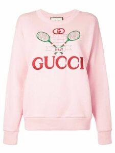 Gucci Gucci Tennis sweatshirt - PINK