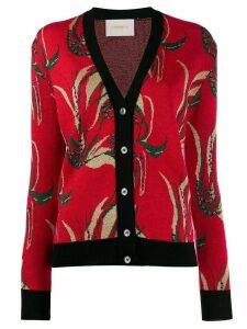 La Doublej patterned cardigan - Red