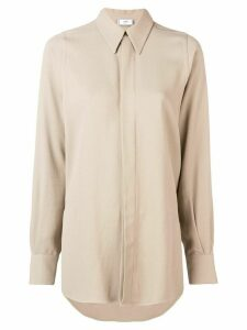 Ami Paris Long Shirt - NEUTRALS