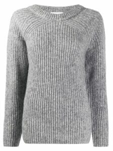 Helmut Lang chunky knit jumper - Grey