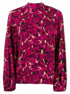 Dorothee Schumacher abstract print blouse - PINK