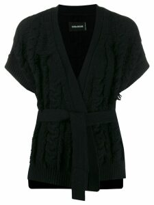 Zadig & Voltaire Corry Cow cardigan - Black