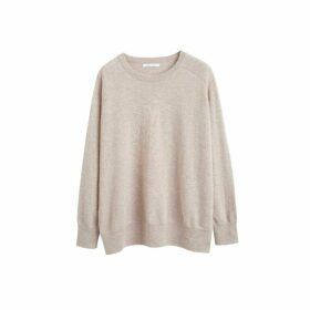 Chinti & Parker Oatmeal Cashmere Slouchy Sweater