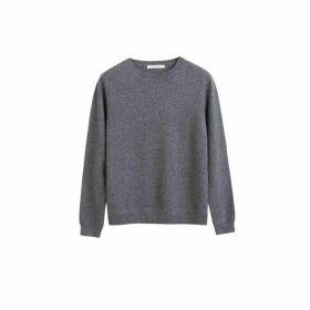 Chinti & Parker Grey Cashmere Crew Sweater