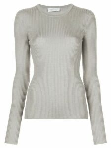 Gabriela Hearst long-sleeve fitted jumper - Grey