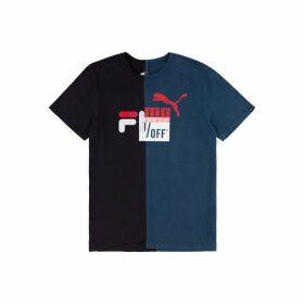 1/OFF Paris Fila X Puma Printed T-shirt