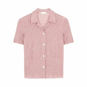 LOROD Gingham Seersucker Shirt