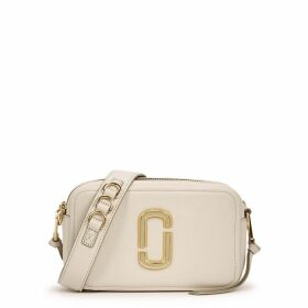 Marc Jacobs Softshot 21 Cream Leather Shoulder Bag