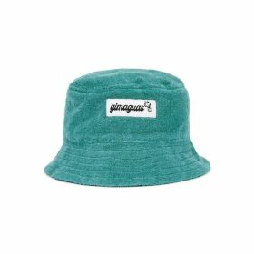 Gimaguas Pringui Turquoise Terrycloth Bucket Hat