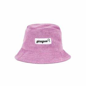 Gimaguas Pringui Purple Terrycloth Bucket Hat