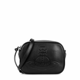 Vivienne Westwood Anna Black Leather Cross-body Bag