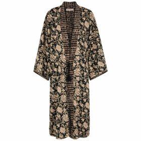 Free People Rumi Printed Reversible Kimono