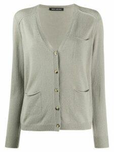 Iris Von Arnim V-neck cashmere cardigan - Grey