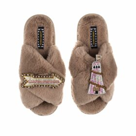 Hayley Menzies - Leopardess Short Cardigan In Yellow & Blue