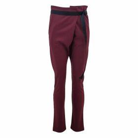 Delayne Dixon - Little Black Ruffled Top