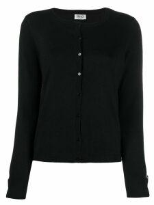 LIU JO cuff detail cardigan - Black