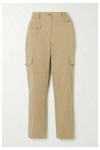 Dolce & Gabbana - Cotton-blend Twill Slim-leg Pants - Beige