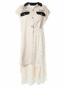 Maison Mihara Yasuhiro Sublime dress - White