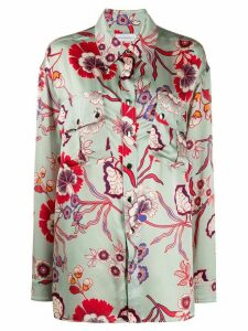 Faith Connexion floral print blouse - Green