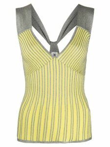 M Missoni Riga knitted top - Yellow