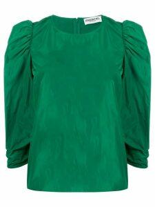 Essentiel Antwerp three-quarter sleeve blouse - Green