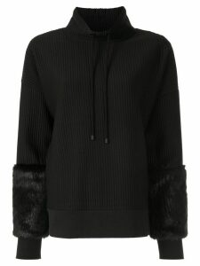 Elie Tahari Nixie ribbed jumper - Black