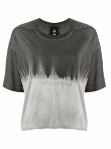 Thom Krom gradient-effect flared T-shirt - White