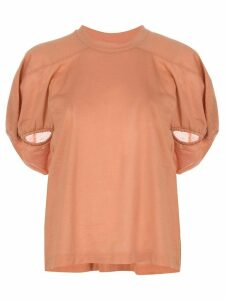 Marques'Almeida puff sleeve T-shirt - PINK