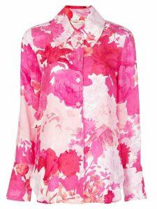 Stine Goya rose-print shirt - PINK