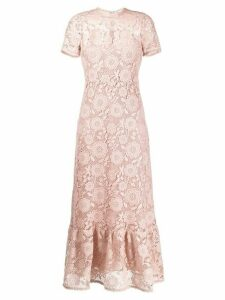 RedValentino lace long dress - NEUTRALS