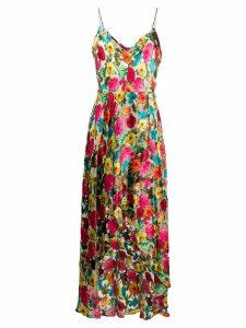 Alice+Olivia Christina Floral Maxi dress - PINK