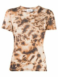 Nanushka tie-dye T-shirt - Brown