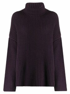 Nanushka roll neck jumper - PURPLE