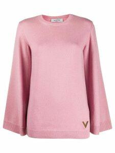 Valentino cashmere VGOLD jumper - PINK