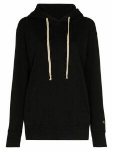 Rick Owens X Champion x Champion logo drawstring hoodie - Black