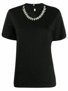 Christopher Kane crystal-embellished T-shirt - Black