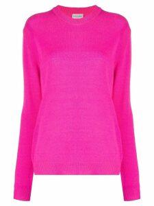 By Malene Birger round neck cashmere jumper - PINK