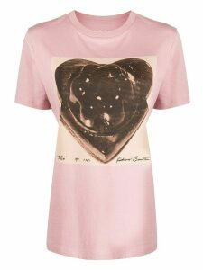 Coach graphic print T-shirt - PINK