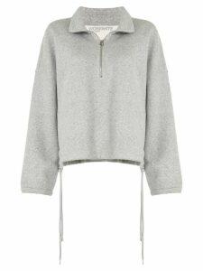 James Perse half-zip sweatshirt - Grey