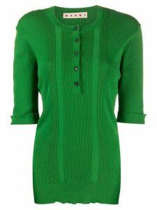 Marni fine knit top - Green