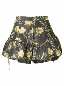 Sir. Carmen floral print shorts - Multicolour