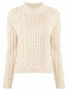 Sir. Ava cable knit jumper - NEUTRALS