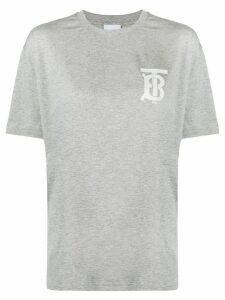 Burberry logo T-shirt - Grey