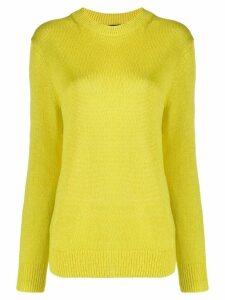 Theory fine-knit jumper - Yellow