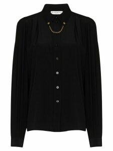Givenchy chain detail shirt - Black