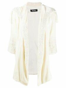 Parlor tassel-embellished jacket - NEUTRALS