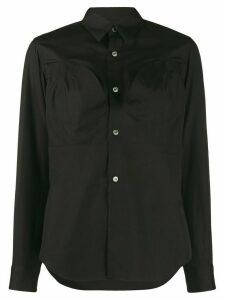 Comme Des Garçons button-up shirt - Black