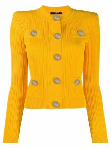 Balmain fitted cardigan - Yellow
