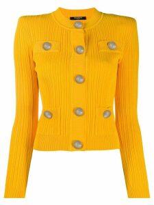 Balmain fitted cardigan - Yellow